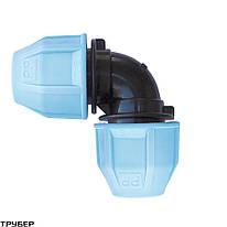 Колено VS Plast 4001 32x32 мм зажимное