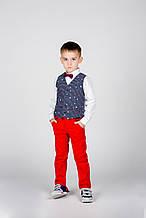Дитячі штани для хлопчика MEK Італія 191MDBH001 синій