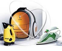 Утюги, отпариватели, парогенераторы, пылесосы