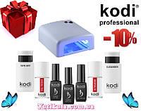 Стартовый набор для маникюра Kodi с лампой УФ на 36W