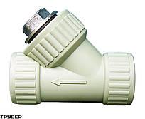 Фильтр грубой очистки 32 мм VS Plast полипропиленовый