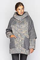 Демисезонная женская куртка. Модель 183. Размеры 50-56