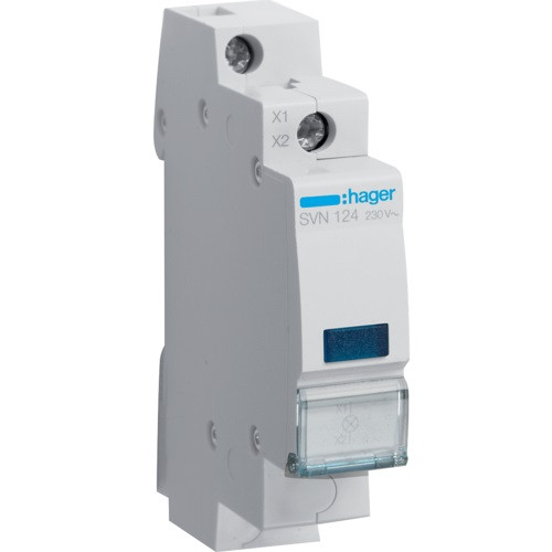 Индикатор LED синий, Hager SVN124