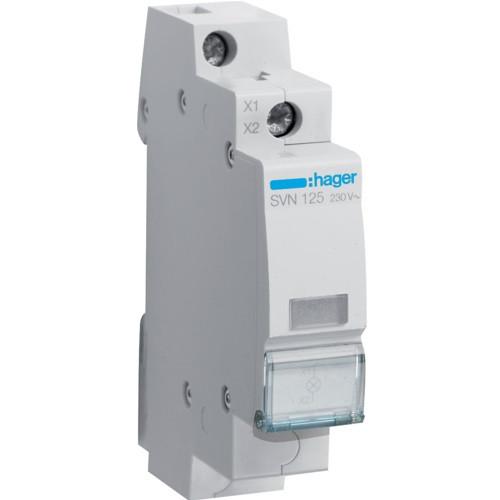 Индикатор LED белый, Hager SVN125