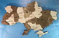 Декоративное карта Украины из фанеры