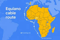 Google тянет свой третий подводный кабель