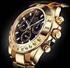 Часы Rolex Daytona Black кварцевые мужские (ролекс)