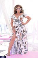 Стильное платье    (размеры 48-54) 0197-97