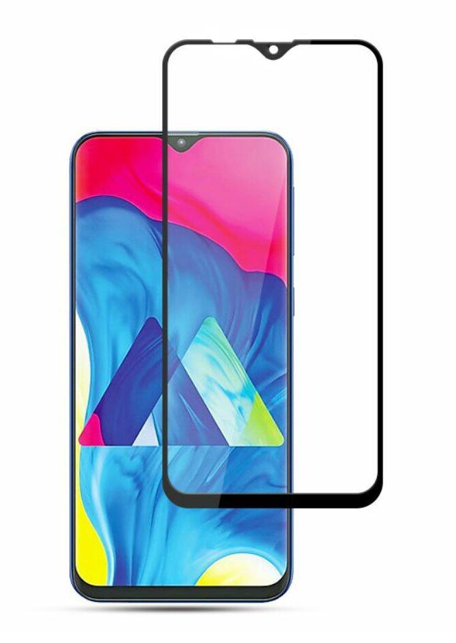 Захисне скло NZY для Samsung Galaxy A10/ М10 Full Glue Чорні рамки (999999)