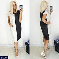 Стильное платье    (размеры 48-54) 0197-99