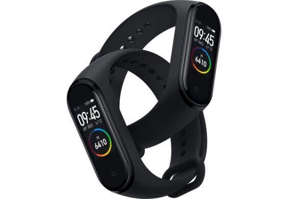 Фитнес браслет Xiaomi Mi Smart Band 4 Black Global (Оригинал)