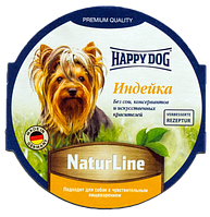 HAPPY DOG паштет с индейкой 85гр