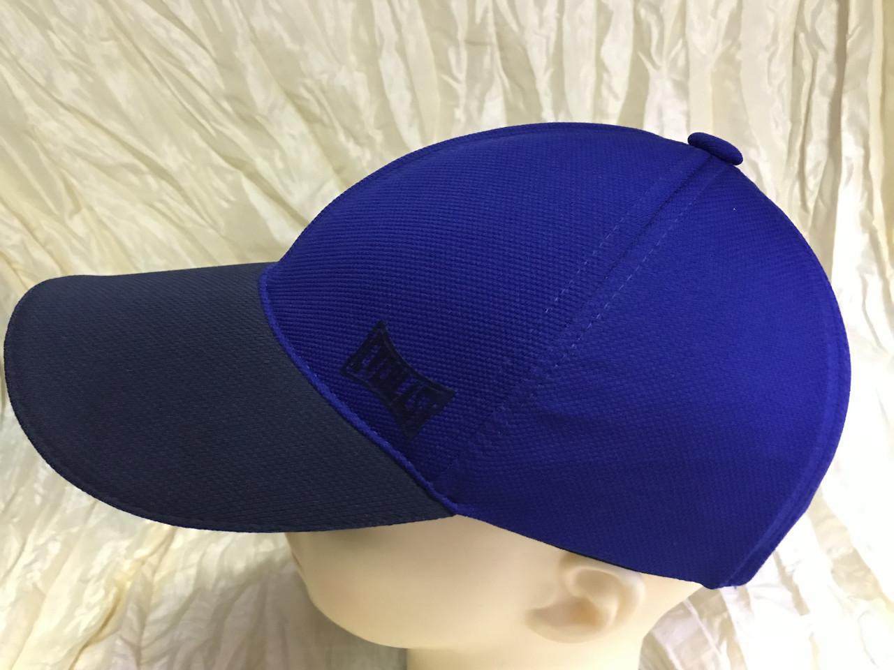 Бейсболка из трикотажного полотна размер 56-58 цвет ярко-синий