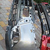 Бампер передний на Mitsubishi outlander