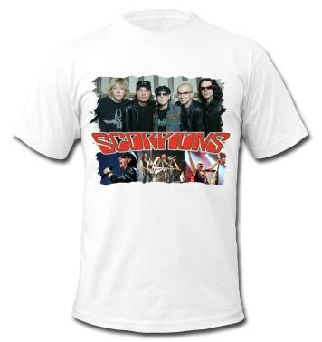 "Футболка ""Rock. Scorpions"""