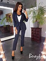 Элегантный костюм тройка( пиджак+брюки+майка), фото 1