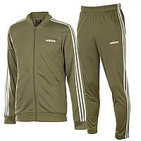 Спортивный костюм adidas 3S Poly Suit 92 RawKhaki/White - Оригинал