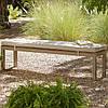 Скамейка Grace Classic Bench - Taupe