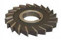 Фреза дисковая трехсторонняя ф 100х12 мм Р6М5 прямой зуб