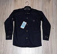 Рубашка темно-синяя для мальчика