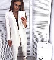 Женский стильный брючный костюм