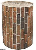 Полотно ППЭ самоклейка РИСУНОК КИРПИЧ ламинированое TEPLOIZOL  5 мм