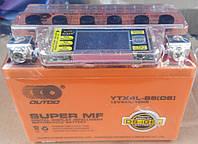 Аккумулятор 12v4a.h Гелевый оранжевый с ж/к дисплеем OUTDO, фото 1