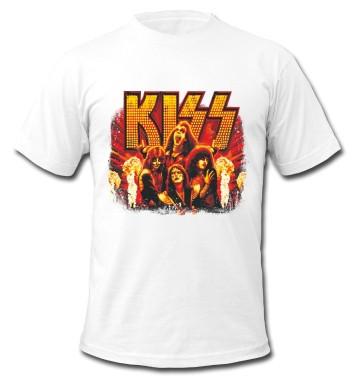 """Футболка """"Rock. Kiss"""""""