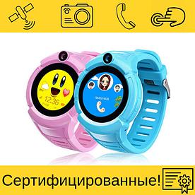 Smart Baby Watch Q610S Детские смарт часы с GPS 6 цветов на выбор