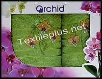 Набор полотенец 2шт. Orchid баня+для лица Турция (kod 4407)