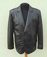 Мужской пиджак Eleganza из натуральной кожи модель JACKET  размер XXL