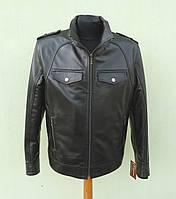 Кожаная мужская куртка DEALER размер XXL, romb