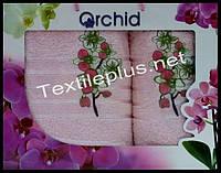 Набор полотенец 2шт. Orchid баня+для лица Турция (kod 4409)
