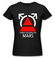 """Футболка """"Rock. 30 Seconds to Mars"""""""