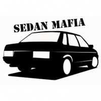 "Наклейка ""sedan mafia"", фото 1"
