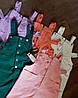 Сарафан (Фабричний Китай) без футболки!!! Колір оранжевий.білий.кораловий.смарагд. бузковий.(16118), фото 10
