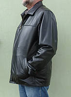 Мужская куртка Eleganza из натуральной кожи. МодельTONY+ размер XXL