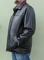Мужская куртка Eleganza из натуральной кожи. Модель TONY+ размер L