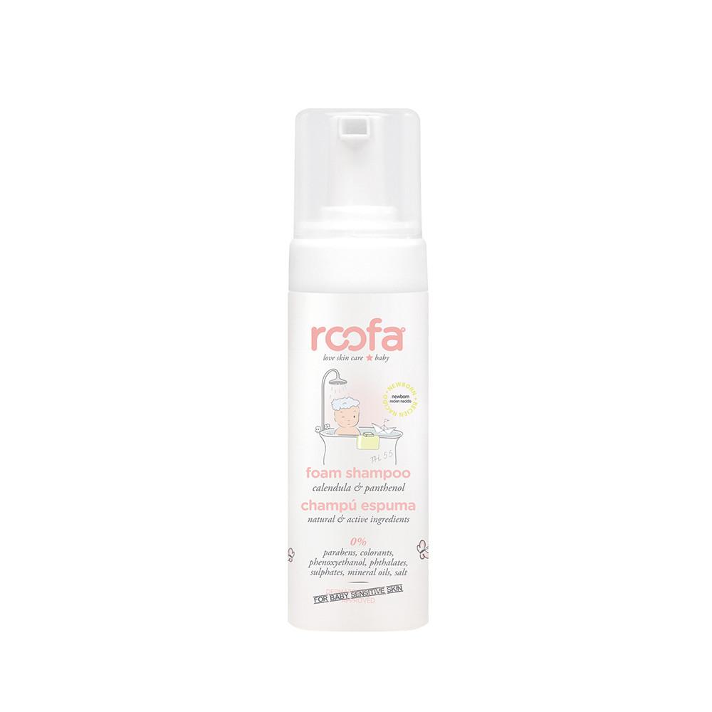 Піна-шампунь для дітей з календулою і пантенолом (без сульфатів) ROOFA