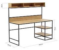 Письменный/Офисный стол LNK - LOFT 650*1600*750, фото 1
