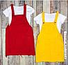 Костюм (Фабричный Китай) сарафан+футболка. Цвет красный.желтый. сиреневый.малиновый (16119), фото 5