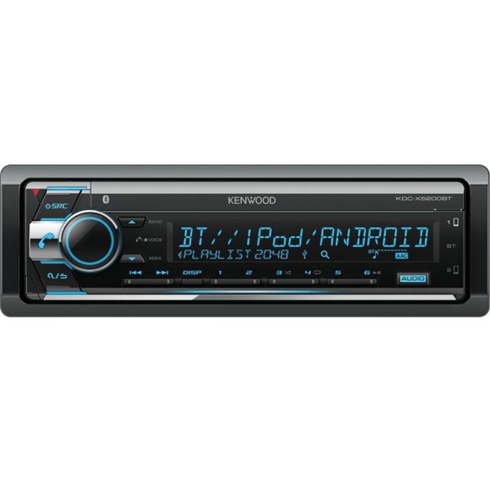 Автомагнитола Kenwood KDC-X5200BT с Bluetooth