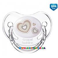 Пустышка силиконовая круглая Newborn Baby 18+ м-цев Canpol 22/564