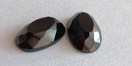 Новинка!!! Камені в печатку овал-кабашон 13 х8 чорний.