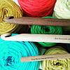 Крючок деревянный гладкий для вязания 12 мм
