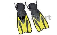 Ласты с закрытой пяткой (калоша цельная) Dorfin PL - 448