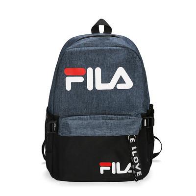 Городской рюкзак Fila темно-синий с черным (реплика)