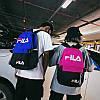 Городской рюкзак Fila синий с черным (реплика), фото 8
