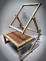 Станок диванный со столиком для вышивания (вертикальный),формат  А3