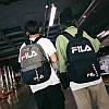 Городской рюкзак Fila черный (реплика), фото 2